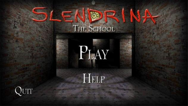 Slendrina: The School-poster