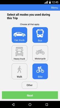 Fort Collins Travel Survey apk screenshot