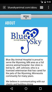 Blue Sky Animal Hospital apk screenshot