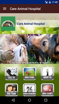 Care Animal Hospital poster