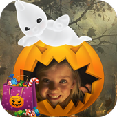Halloween Photo Frames HD icon