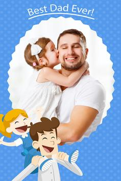 Happy Father's Day Photo Frames poster