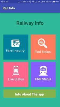 Indian Easy Rail Info screenshot 1