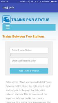 Indian Easy Rail Info screenshot 5