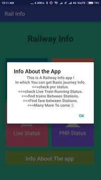 Indian Easy Rail Info screenshot 6