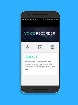 Voice Recorder and editor apk screenshot