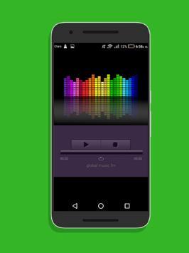 Global Music FM Radio FM gratis screenshot 1