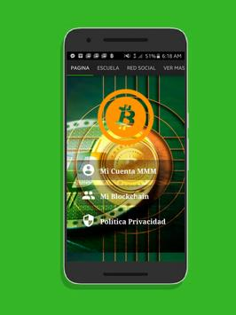 MMM Bitcoin Free Earn Money poster