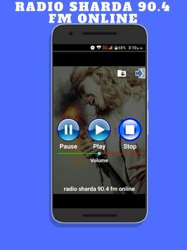 Radio Sharda 90.4 fm Online Radiospick DAB radio screenshot 1