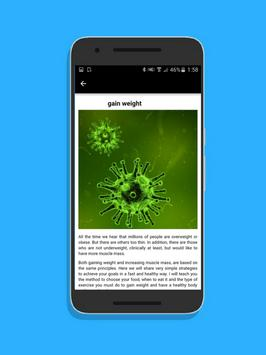 Gain weight in 30 days fast exercise for men free screenshot 1