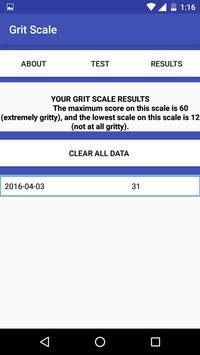 Grit Scale screenshot 3