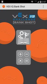 VEX IQ Bank Shot poster