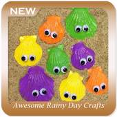 Awesome Rainy Day Crafts For Kids icon