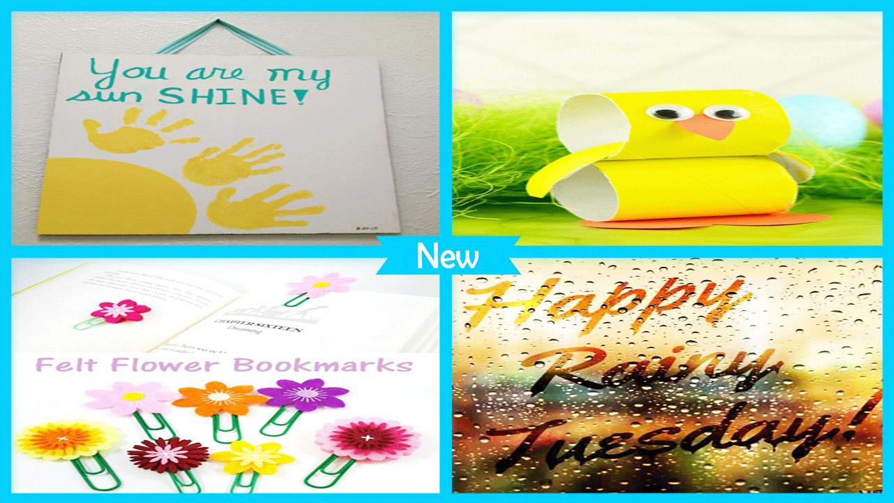 Awesome Rainy Day Crafts For Kids poster