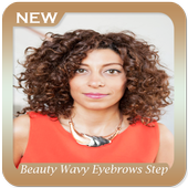 Beauty Wavy Eyebrows Step by Step icon