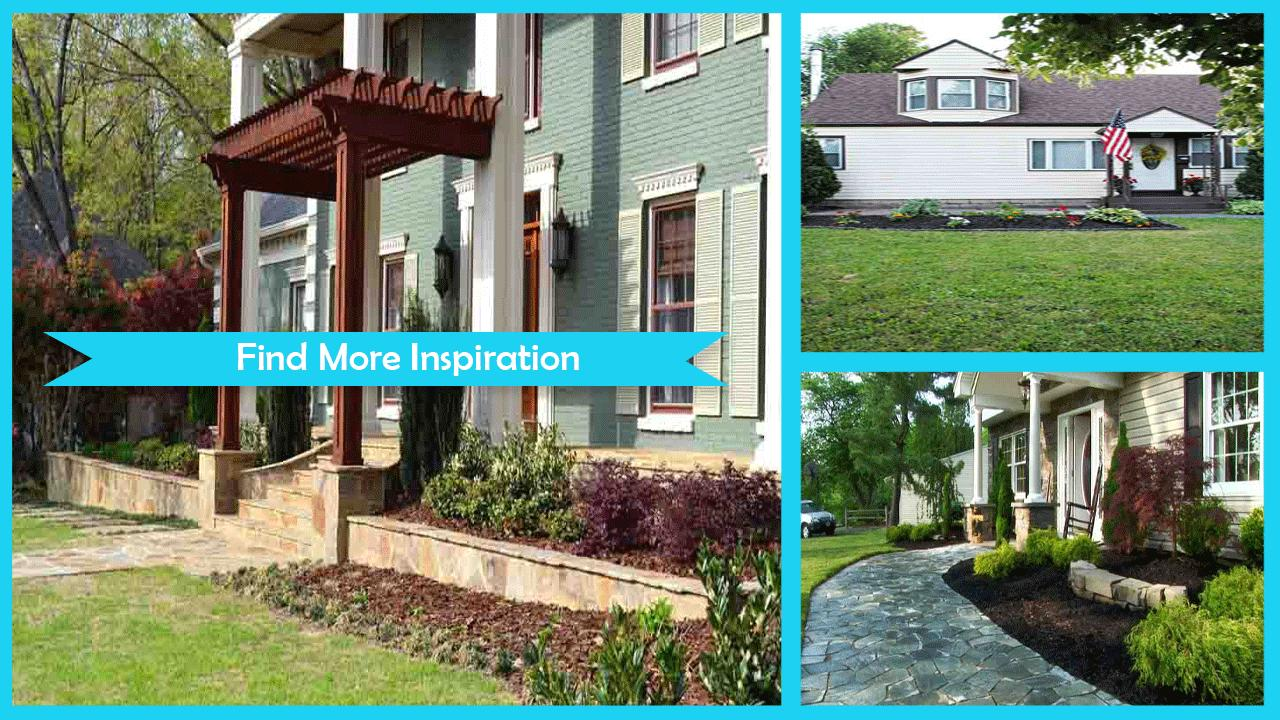DIY Curb Appeal Home Decor Ideas poster