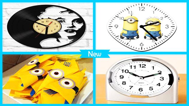 DIY Googly Eyes Minion Clock screenshot 4