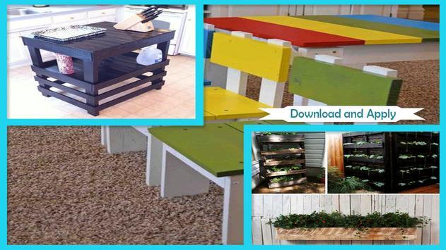 DIY Reclaimed Pallet Furniture screenshot 1