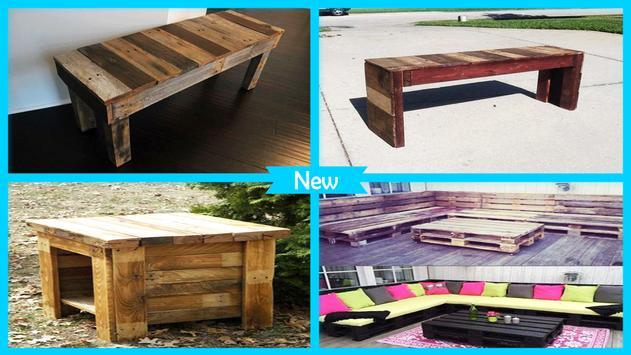 DIY Reclaimed Pallet Furniture screenshot 4