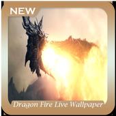 Dragon Fire Live Wallpaper icon