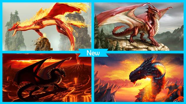 Dragon Fire Live Wallpaper apk screenshot