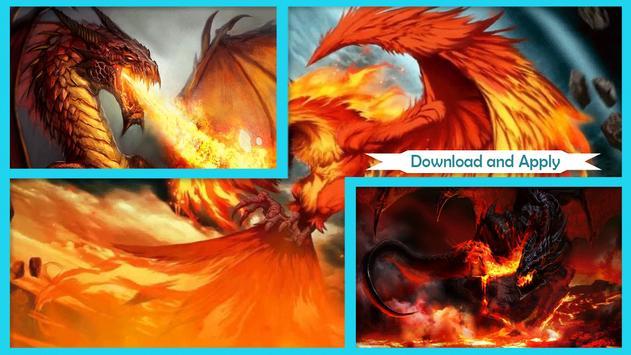 Dragon Fire Live Wallpaper poster