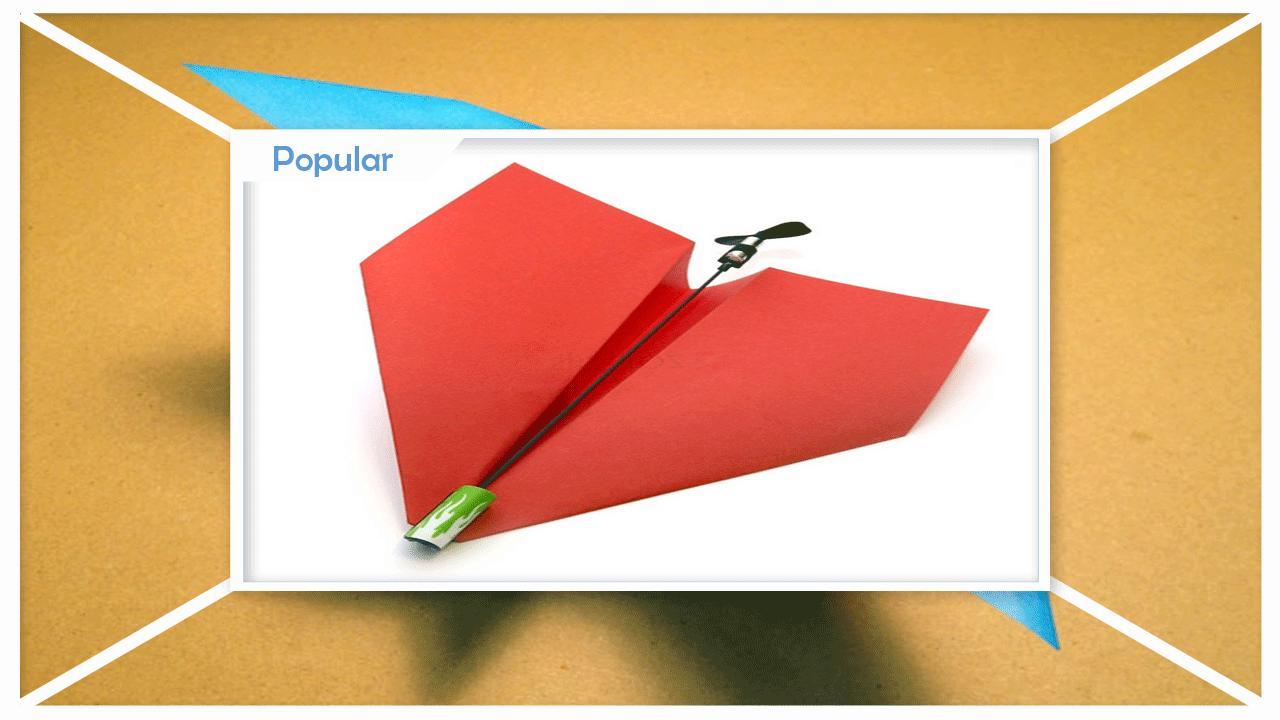 Easy DIY Paper Planes poster