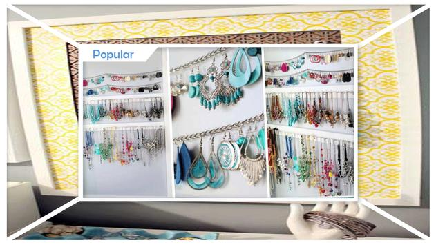 Simple DIY Jewelry Organizer screenshot 2