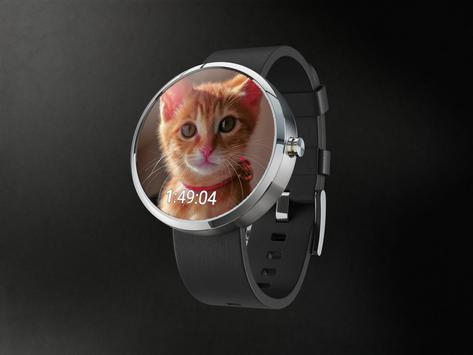 Cute Cats Watchface screenshot 1
