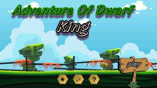 Dwarf The king of Adventure poster