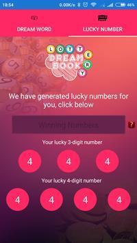 Lottery DreamBook الملصق