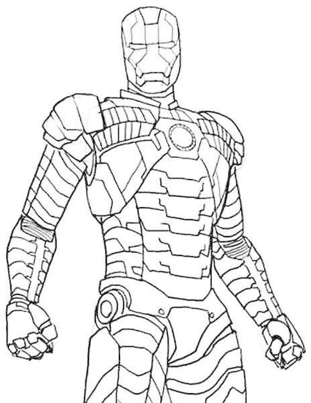 coloring book pages ironman | How To Draw Ironman EZ for Android - APK Download
