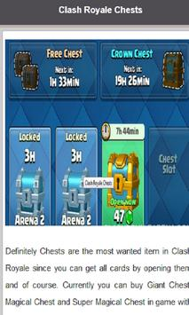 Guide For Clash Royale Updated screenshot 1