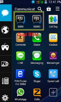 New Dual BBM apk screenshot