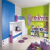 100++Bedroom interior for kids icon
