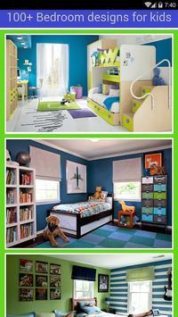 100++Bedroom interior for kids poster