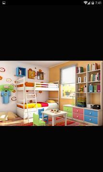 100++Bedroom interior for kids apk screenshot