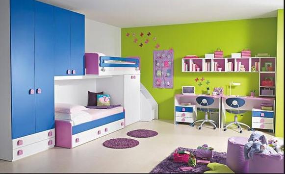 100++Bedroom interior for kids screenshot 8