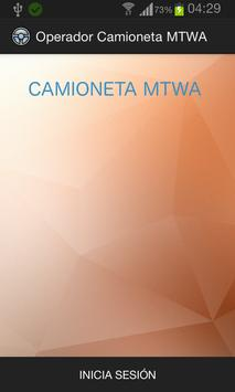 Conductor Camioneta MTWA poster
