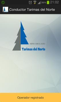 Conductor Tarimas del Norte poster