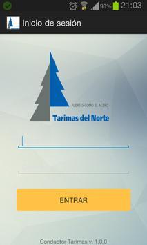 Conductor Tarimas del Norte screenshot 1