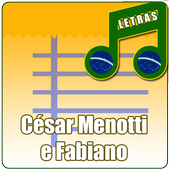 César M e Fabiano Letras App icon