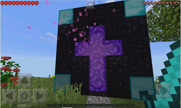 Nether Dimension Mod for MCPE poster
