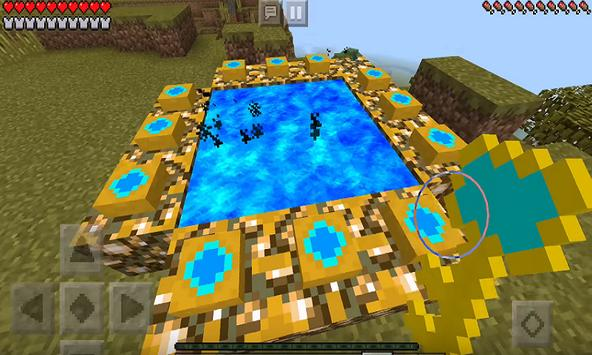 Jimbo's Aether Addon for MCPE poster
