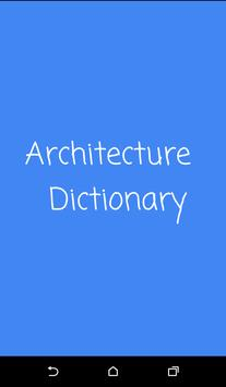 Architecture Dictionary poster