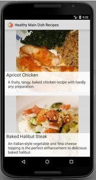 Healthy Main Dish Recipes poster