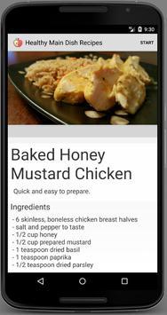 Healthy Main Dish Recipes screenshot 1