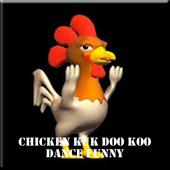 Chicken Kuk Doo Koo Dance Funny icon