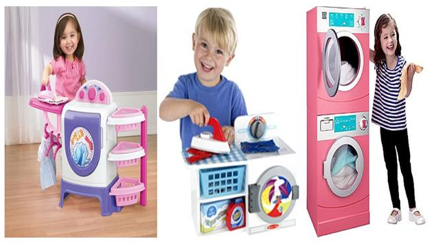 Laundry Toy For Kids poster