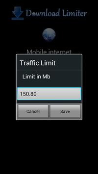 3G Download Limiter screenshot 2
